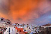 Sunset, Oia, Santorini, Greece
