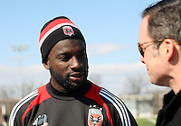 DC United Preseason Practice, February 6, 2013