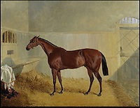 BNPS.co.uk (01202) 558833<br /> Picture: Bonhams<br /> <br /> Horse in a stable by John Frederic Herring, est &pound;15,000<br /> <br /> It is the ultimate garden sale -- The aristocrat Cunliffe-Copeland family are auctioning off millions of pounds of antiques in a unique sale of the entire contents of their stately home Trelissick House near Truro in Cornwall. For generations the family have filled the magnificent The 18th century manor with treasures acquired from travels around the globe.<br /> <br /> 58 years ago the house was left to the National Trust on the condition members of the family could carry on living in the property. But the current incumbent, William Copeland and wife Jennifer, have decided to buy a normal-sized family home and are unable to take the hundreds of heirlooms with them. So they are holding a two-day sale of ancient ornaments, paintings, furniture, jewellery, silverware, books, rugs and wine in the grounds of Trelissick House, near Truro, later this month, and hope to raise &pound;3million
