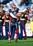 1 November 2009: Buffalo Bills' punter Brian Moorman warms up prior to a game against the Houston Texans at Ralph Wilson Stadium in Orchard Park, New York, USA. The Texans defeated the Bills 31-10. Mandatory Credit: Ed Wolfstein Photo