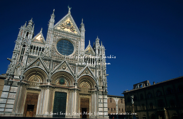 Building in Siena, Italy Images of Siena Siena Italy