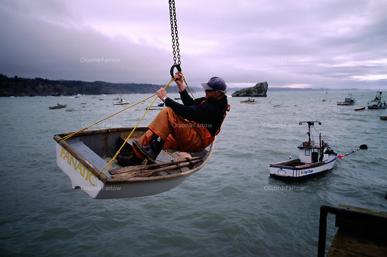 Determined Fisherman in a Dingy   Randy Olson and Melissa ... A Dangerous Method Boat