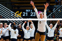 Cal Volleyball W vs Stanford, September 20, 2016