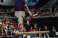 Stanford Gymnastics W vs Pac12 Championships Session 1, March 18, 2017