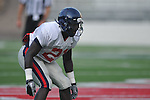 Ole Miss defensive back Senquez Golson (21), a Boston Red Sox draft choice, goes through drills at Vaught-Hemingway Stadium in Oxford, Miss. on Saturday, August 13, 2011.