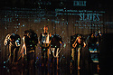 London, UK. 31.01.2013.  FEAST written by Yunior Garcia Aguilera, Rotimi Babatunde, Marcos Barbosa, Tanya Barfield and Gbolahan Obisesan, directed by Rufus Norris, opens at the Young Vic. Lighting by Paule Constable and design by Katrina Lindsay. Photo credit: Jane Hobson.