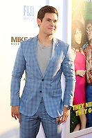 HOLLYWOOD, CA - JUNE 29: Adam Devine at the premiere of Mike And Dave Need Wedding Dates at ArcLight Cinemas Cinerama Dome on June 29, 2016. Credit: David Edwards/MediaPunch