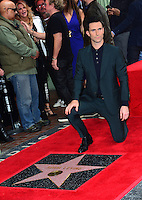 Adam Levine at the Hollywood Walk of Fame Star Ceremony honoring singer Adam Levine. Los Angeles, USA 10 February  2017<br /> Picture: Paul Smith/Featureflash/SilverHub 0208 004 5359 sales@silverhubmedia.com