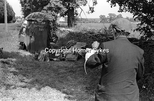 Fred Abel. Bibury Gloucestershire Uk 1968. Fred Abel Circus. As seen on TV. Animal Antics .