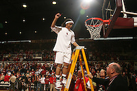 25 February 2007: Markisha Coleman during Stanford's 56-53 win over USC at Maples Pavilion in Stanford, CA.