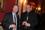 Wales in London Dinner.Jon Morgan and Efrem Leigh.Caledonian Club.19.06.12.©Steve Pope
