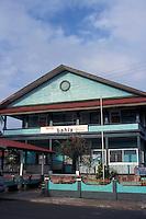 The Hotel Bahia in the town of Bocas del Toro, Isla Colon, Panama