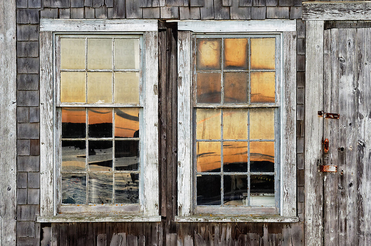 Coastal shanty detail, Menemsha, Cillmark, Martha's Vineyard, Massachusetts