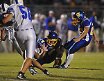 Oxford High's Cody Mills (29) vs. Senatobia in high school football in Oxford, Miss. on Friday, September 9, 2011. Oxford won 40-20.