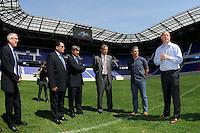 FIFA Inspection Red Bull Arena September 07 2010