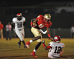 Lafayette High's Joshua Barry (11) vs. Shannon in Oxford, Miss. on Friday, September 14, 2012. Lafayette won 44-25 over Shannon to improve to 4-1.