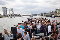 """Berlin Beats and Boats"", a techno party on a series of boats that cruise down the River Spree through Berlin and the surrounding countryside, replacing the now defunct ""Love Parade"".."
