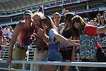 Ole Miss fans at Vaught-Hemingway Stadium in Oxford, Miss. on Saturday, September 4, 2010.
