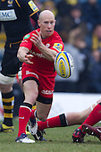 Peter Stringer of Saracens RFC in action - London Wasps RFC vs Saracens RFC - Aviva Premiership Rugby at Adams Park, Wycombe Wanderers FC - 12/02/12 - MANDATORY CREDIT: Ray Lawrence/TGSPHOTO - Self billing applies where appropriate - 0845 094 6026 - contact@tgsphoto.co.uk - NO UNPAID USE.