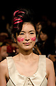 October 21st, 2011: Tokyo, Japan – A model walks down the catwalk wearing Junya Tashiro during Mercedes-Benz Fashion Week Tokyo 2012 Spring/Summer. The Mercedes-Benz Fashion Week Tokyo runs from October 16-22. (Photo by Yumeto Yamazaki/AFLO)