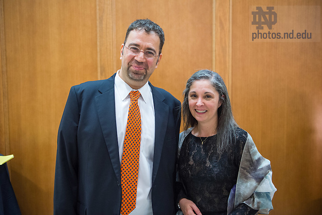 Sept. 30, 2015; 2015 Guillermo O'Donnell Memorial Lecture. (Photo by Matt Cashore/University of Notre Dame)