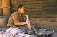 Tsephel, the Tibettan claymaker.