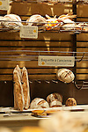 Pictures of the interior of Pain Quotidien bakery in downtown Santa Monica, Los Angeles, California