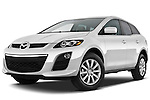 Mazda CX-7i Sport SUV 2010 Stock Photo