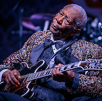 B.B. King at Big Blues Bender at The Riviera in in Las Vegas