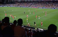FUSSBALL  INTERNATIONAL  Testspiel Schweiz - Brasilien    14.08.2013 Stadionuebersicht Sankt Jakob Park in Basel
