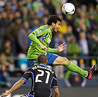 Seattle Sounders vs San Jose Earthquakes, March 31, 2012