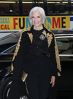 NEW YORK, NY-September 08:  Maye Musk at Daily Front Row Fashion Media Awards at Park Hyatt in New York. NY September 08, 2016. Credit:RW/MediaPunch