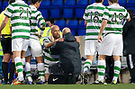 St Johnstone v Celtic...18.12.11   SPL .Daniel Majstorovic eye closed after collision with David Robertson in which he fractured his cheekbone.Picture by Graeme Hart..Copyright Perthshire Picture Agency.Tel: 01738 623350  Mobile: 07990 594431
