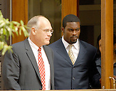 Richmond, VA - August 27, 2007 -- Michael Vick departs the U.S. District Court in Richmond, Virginia after pleading guilty on federal charges related to dog fighting..Credit: Ron Sachs / CNP.(RESTRICTION: No New York Metro or other Newspapers within a 75 mile radius of New York City)