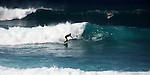 Surfing in Tenerife.