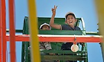 Children traumatized by war enjoy a trip to an amusement park in Gaza City. The outing was sponsored by the Al Ahli Arab Hospital, a member of the ACT Alliance, and financed by the Pontifical Mission for Palestine and Misereor.