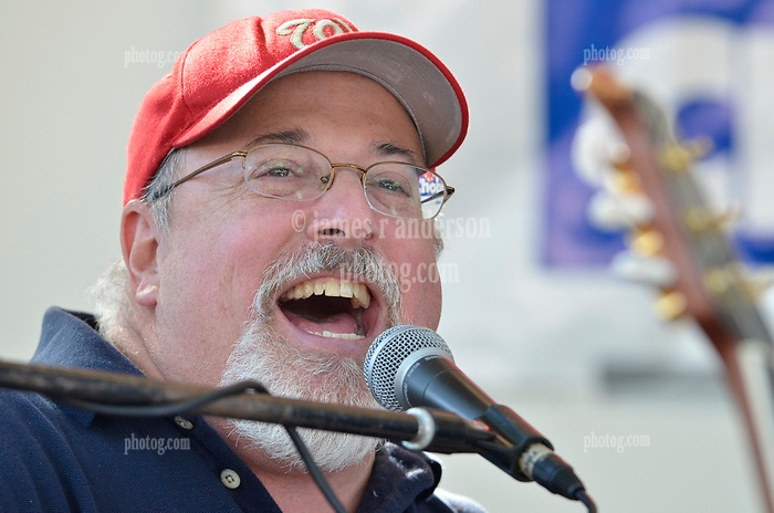 Chuck Marshall of Group Therapy in Concert at the Apple Harvest Festival 2011