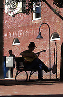 art guitar music downtown mall