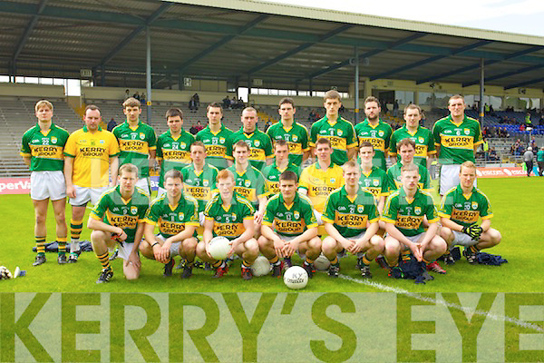 Kerry Team who Played Tipperary in the first round of the Munster Junior Championship at Fitzgerald Stadium on Sunday.