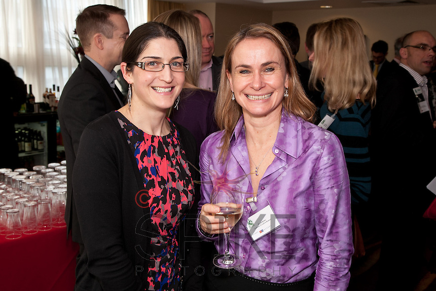 All smiles from Becky Valentine of Spenbeck and Nicola Burley of the Galleries of Justice