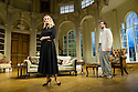Bath, UK. 17.06.2013. RELATIVE VALUES, by Noel Coward, opens the 2013 summer season at the Theatre Royal Bath. Picture shows: Katherine Kingsley (Miranda Frayle) and Ben Mansfield (Don Lucas). Photograph © Jane Hobson.