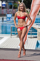 Miss Bikini beauty contest held in Siofok, Hungary. Sunday, 29. August 2010. ATTILA VOLGYI