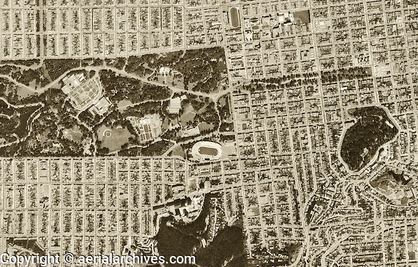 San francisco historical aerial photos - php image from text