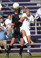 Girls Varsity Soccer vs Sheridan 10-4-08