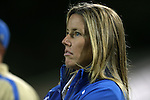 06 September 2013: UCLA head coach Amanda Cromwell. The University of North Carolina Tar Heels played the University of California Los Angeles Bruins at Koskinen Stadium in Durham, NC in a 2013 NCAA Division I Women's Soccer match. UNC won the game 1-0.