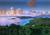View of Cinnamon Bay and <br />