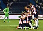 Atlético Junior venció como local 3-0 a Once Caldas. Fecha 10 Liga Águila I-2017.
