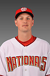 14 March 2008: ..Portrait of Gerald Plexico, Washington Nationals Minor League player at Spring Training Camp 2008..Mandatory Photo Credit: Ed Wolfstein Photo
