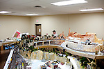 Bruce Koetel walks alongside model railroad tracks in the Sun City Model Railroad Club in the Fairway Recreation Center December 9, 2010. ..2010 marks the 50th anniversary of Sun City, America's first retirement city that remains the largest today with more than 40,000 residents 55 and older.