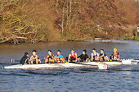 172 .Southampton B .IM3.8+ .Southampton Univ. Wallingford Head of the River. Sunday 27 November 2011. 4250 metres upstream on the Thames from Moulsford railway bridge to Oxford University's Fleming Boathouse in Wallingford. Event run by Wallingford Rowing Club.